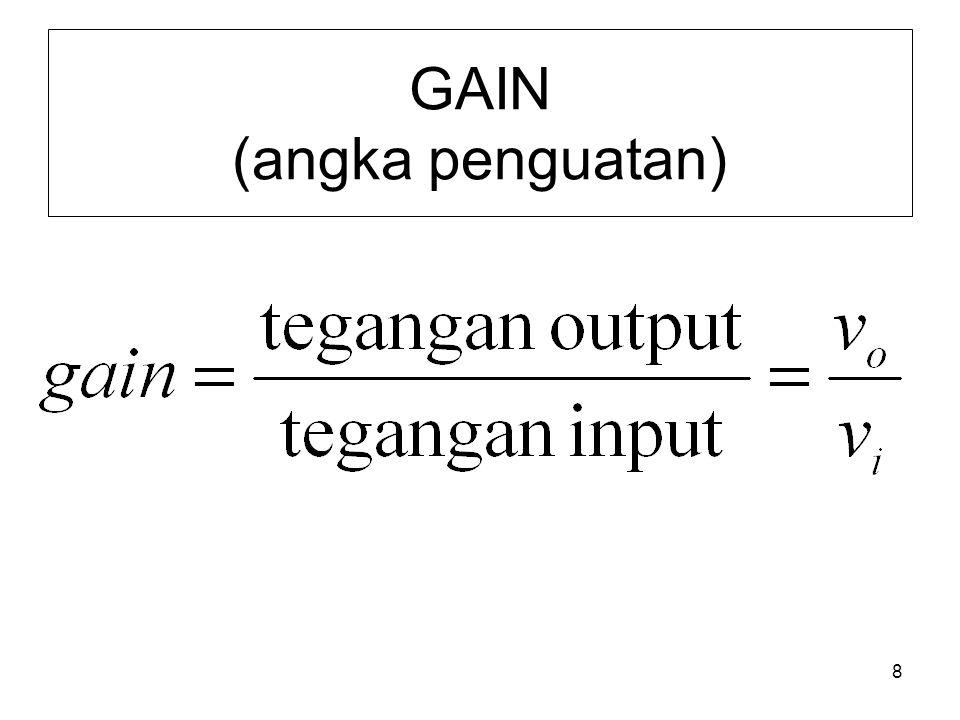 8 GAIN (angka penguatan)