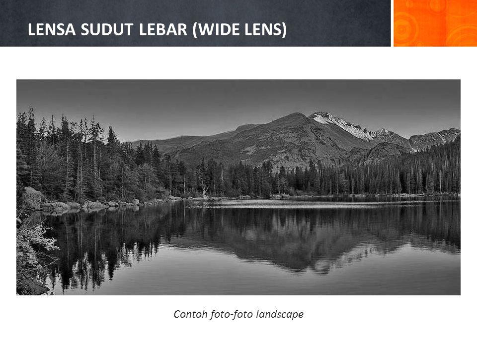 Contoh foto-foto landscape