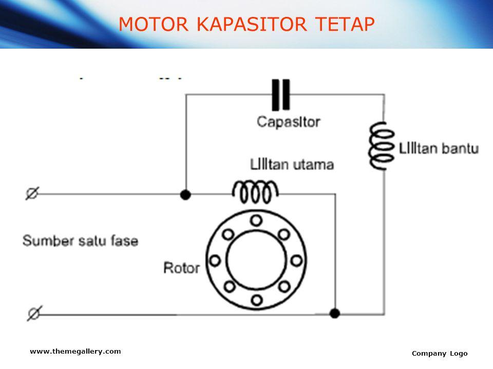 www.themegallery.com Company Logo MOTOR KAPASITOR TETAP