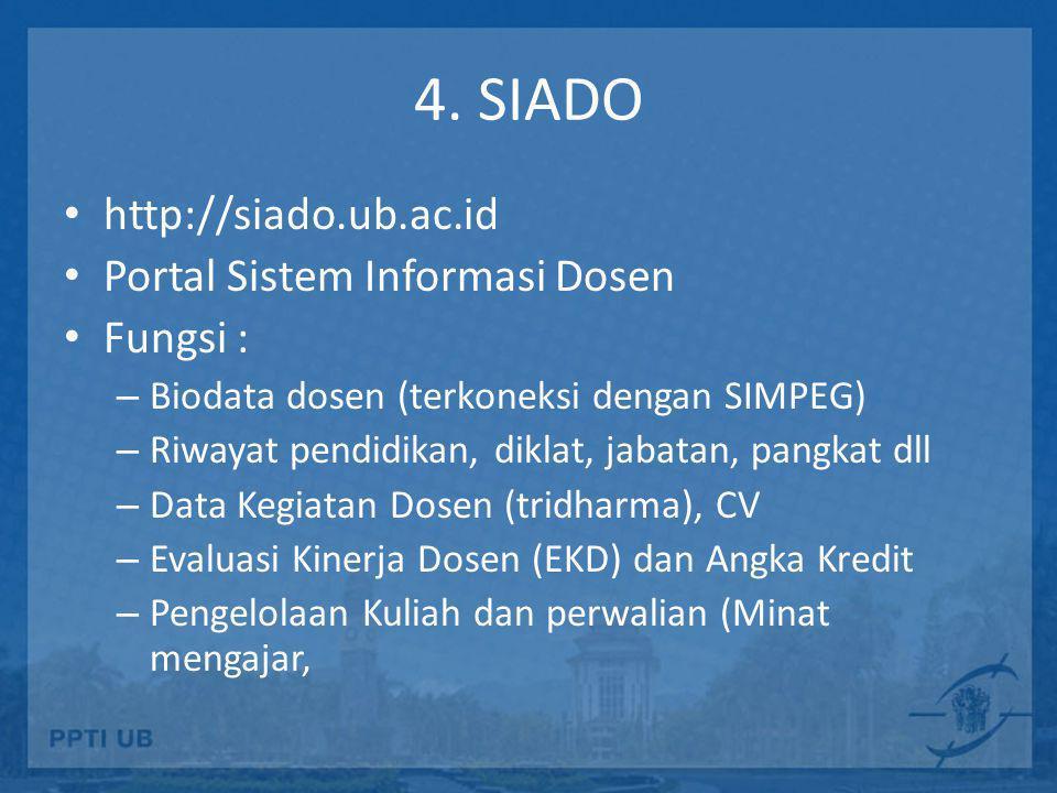 Login SIADO