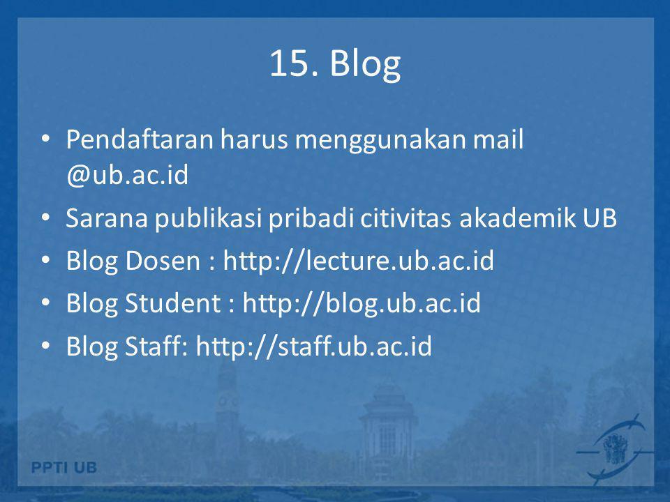 Blog di UB