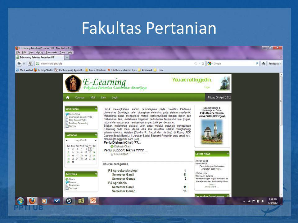 Program Teknologi Informasi dan Ilmu Komputer