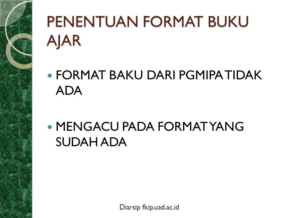 Diarsip fkip.uad.ac.id CONTOH FORMAT .