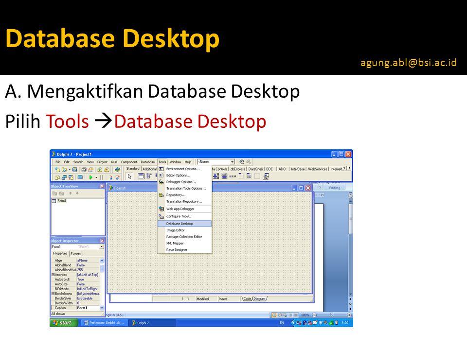 Database Desktop A.