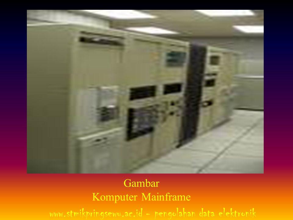 4.Super Komputer Sesuai dengan namanya, super komputer memiliki ciri khas, yaitu kecepatan proses yang tinggi serta memiliki kemampuan menyimpan data yang jauh lebih besar dibanding mainframe.