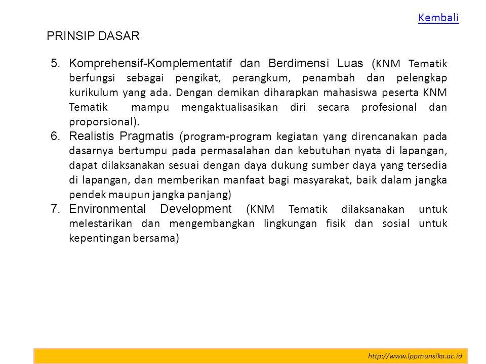 PERANAN PESERTA KNM UNSIKA 2012 1.Inspirator, yakni pembawa aspirasi dalam kerangka problem solving atas permasalahan social kemasyarakatan dan pembangunan daerah.