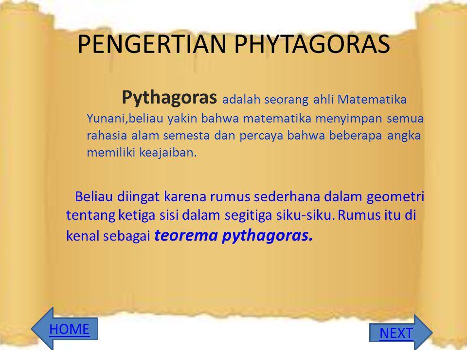 TIM KREATIF GEHA FOUNDATION APLIKASI PHYTAGORAS SERBA SERBI PHYTAGORAS MATERI LATIHAN SOAL
