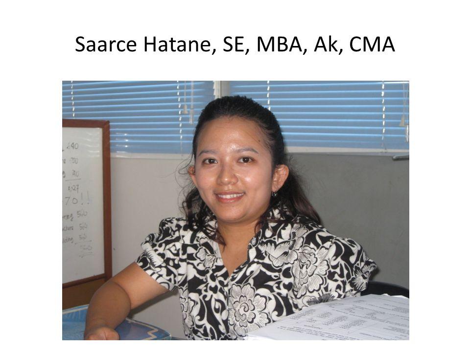 Saarce Hatane, SE, MBA, Ak, CMA