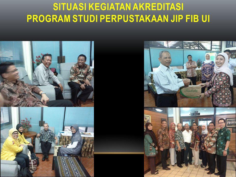 Topik Diskusi : Hakekat Akreditasi; Akreditasi Bidang Perpustakaan di Indonesia; Pengetahuan Komponen Akreditasi; Prosedur Akreditasi dan Penilaian; Lembaga Akreditasi Perpustakaan; Tentang asesor;