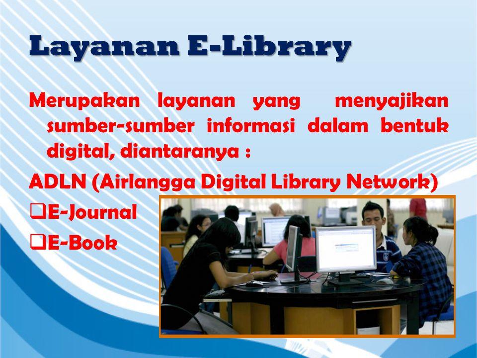 Layanan Sirkulasi • Peminjaman • Pengembalian • Perpanjangan • Bebas Pinjam Perpustakaan  Peminjaman buku per KTM maksimal 20 eks.  Lama peminjaman