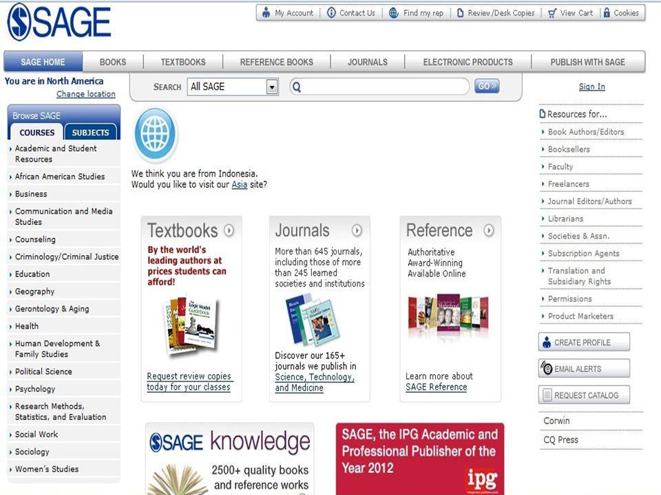 Daftar E-Journal yang dapat dimanfaatkan tahun 2012 IP BASE •Springerlink - http://www.springerlink.com http://www.springerlink.com •Sciencedirect - h
