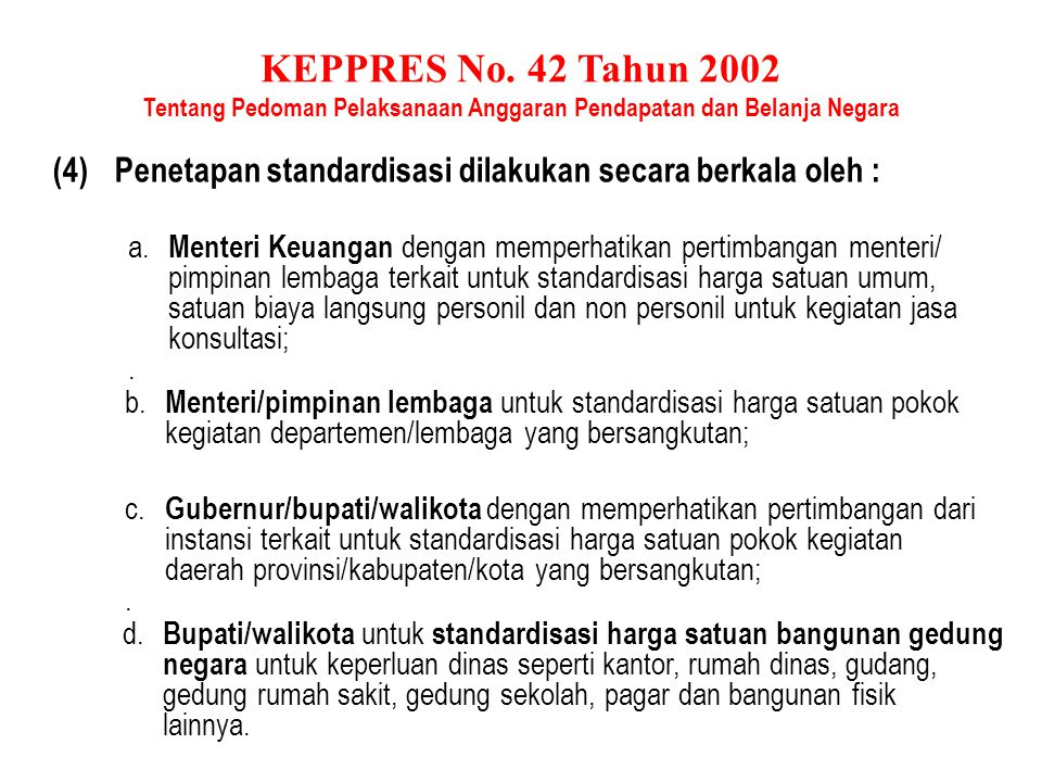 KEPPRES No.