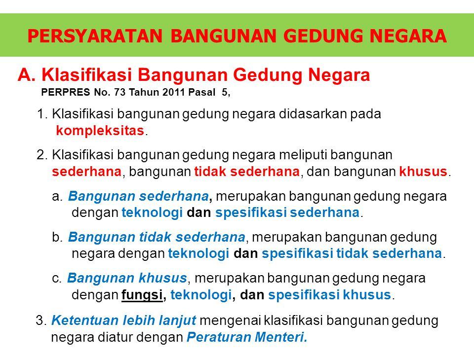 KOEFISIEN/FAKTOR PENGALI BANGUNAN/RUANG DENGAN FUNGSI KHUSUS BAB IV.D.2 Permen PU No.