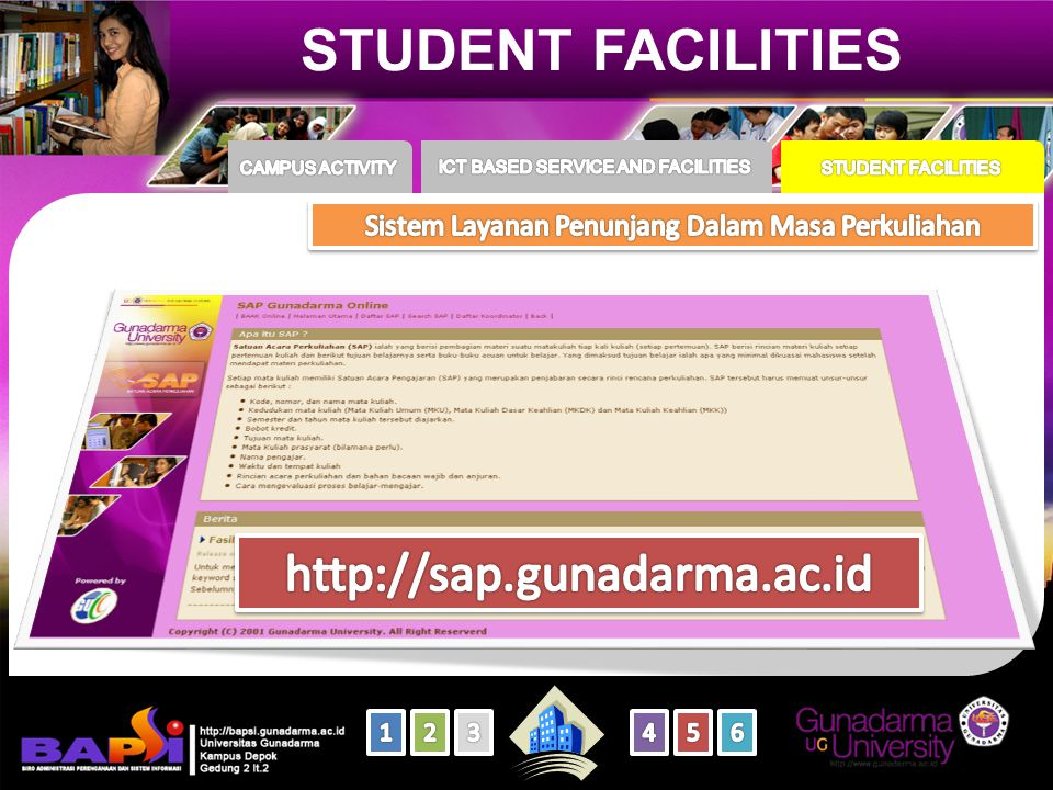 STUDENT FACILITIES