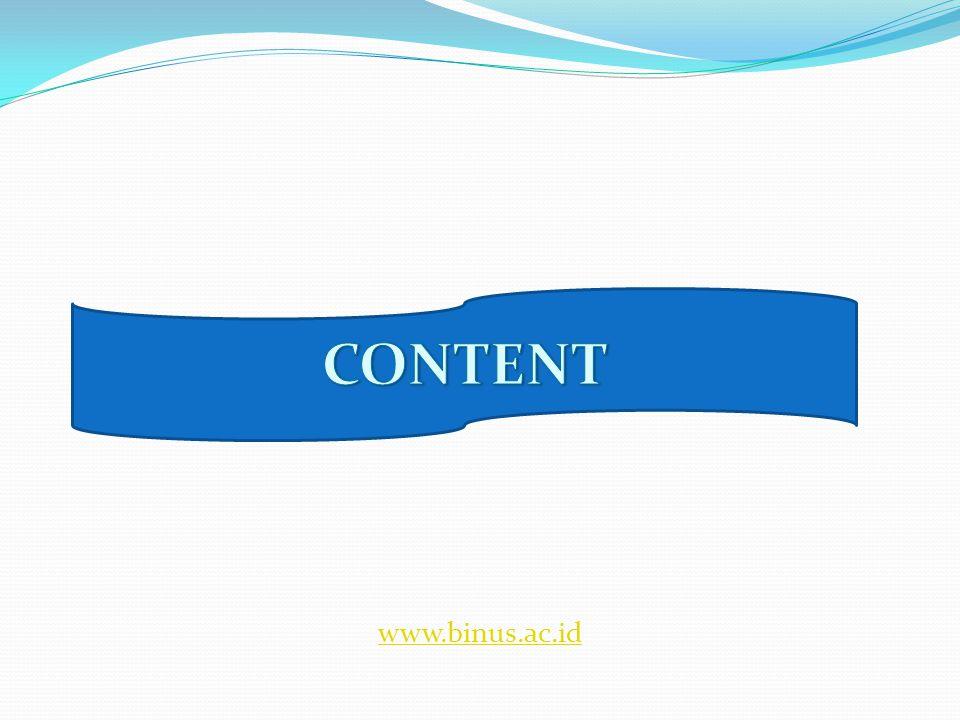 CONTOH APLIKASI SISTEM INFORMASI DI PEMERINTAHAN OTOMASI PERKANTORAN SISTEM INFORMASI MANAJEMEN LAYANAN MASYARAKAT LAYANAN INFORMASI PUBLIK -e-mail -word processing -spread sheet -database -grafik presentasi -e-documment -mail-tracking -dll -SIM-keuangan -SIM-personel -SIM- perlengkapan -dll -e-KTP -e-SIM/STNK -e-Pajak -e-Pabean -e-paspor/visa -e-voting -e-procurement -e-pegawai -dll -Hukum -Tanda jasa -Pariwisata -website -dll www.binus.ac.id