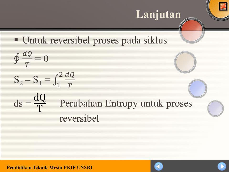 Pendidikan Teknik Mesin FKIP UNSRI Entropy (S)
