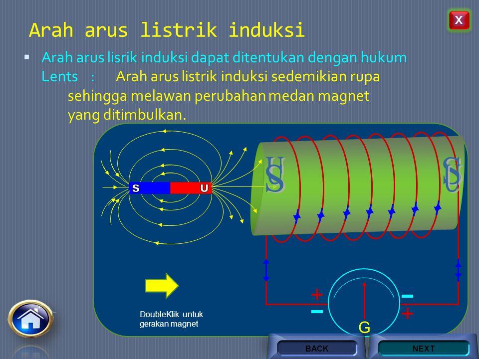 AC  Mengalirkan arus listrik bolak balik pada kumparan primer yang di dekatnya terdapat kumparan sekunder. G NEXTBACK