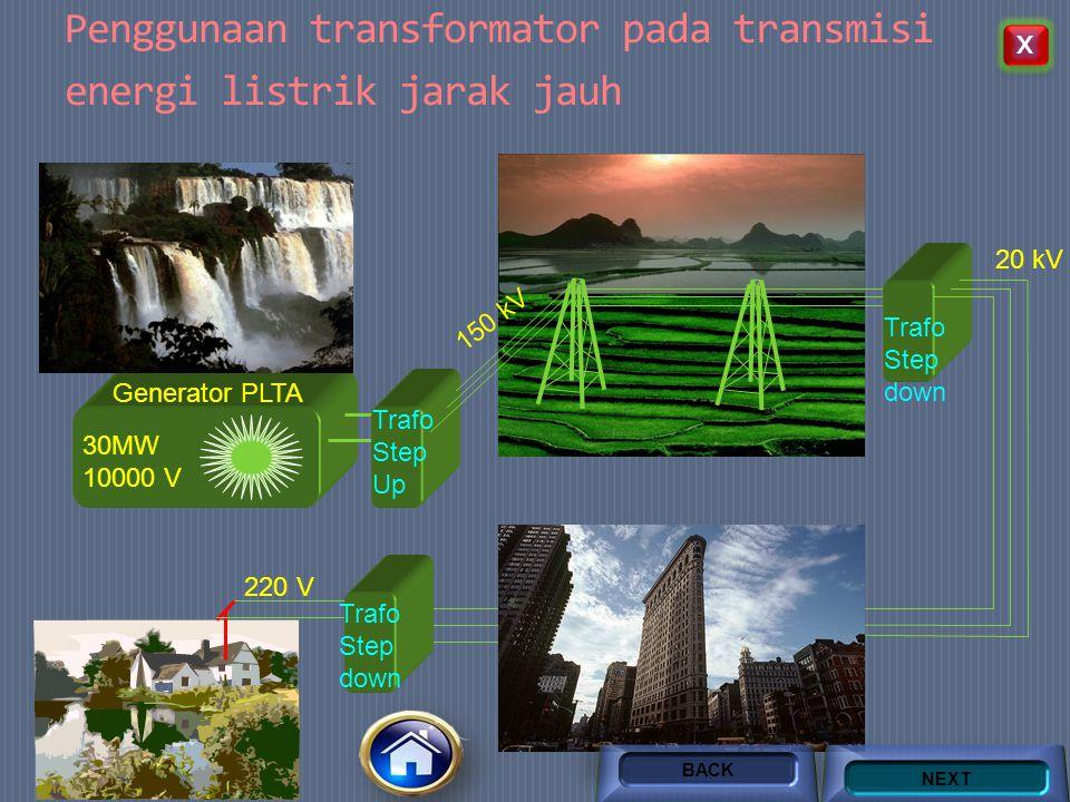 Efisiensi Transformator  Efisiensi Transformator adalah perbandingan energi yang keluar dari transformator dengan energi yang masuk pada transformato
