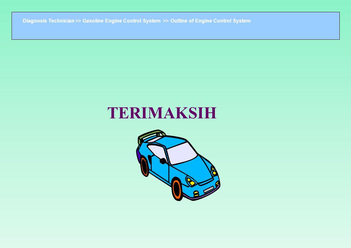 Diagnosis Technician >> Gasoline Engine Control System >> Outline of Engine Control System TERIMAKSIH