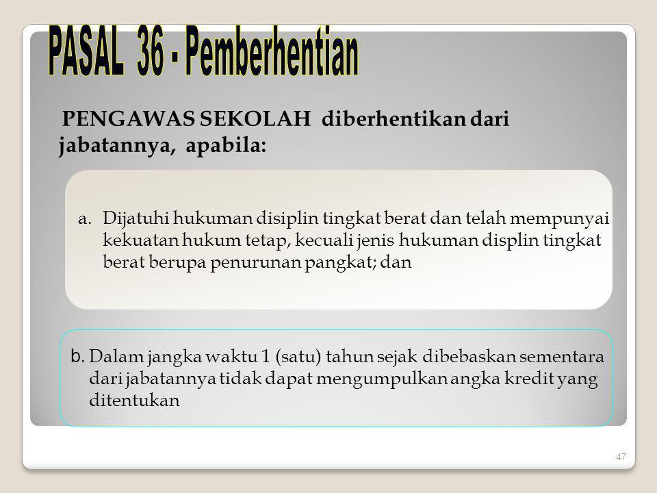 PASAL 37 DAN 38 – KETENTUAN PERALIHAN 1.
