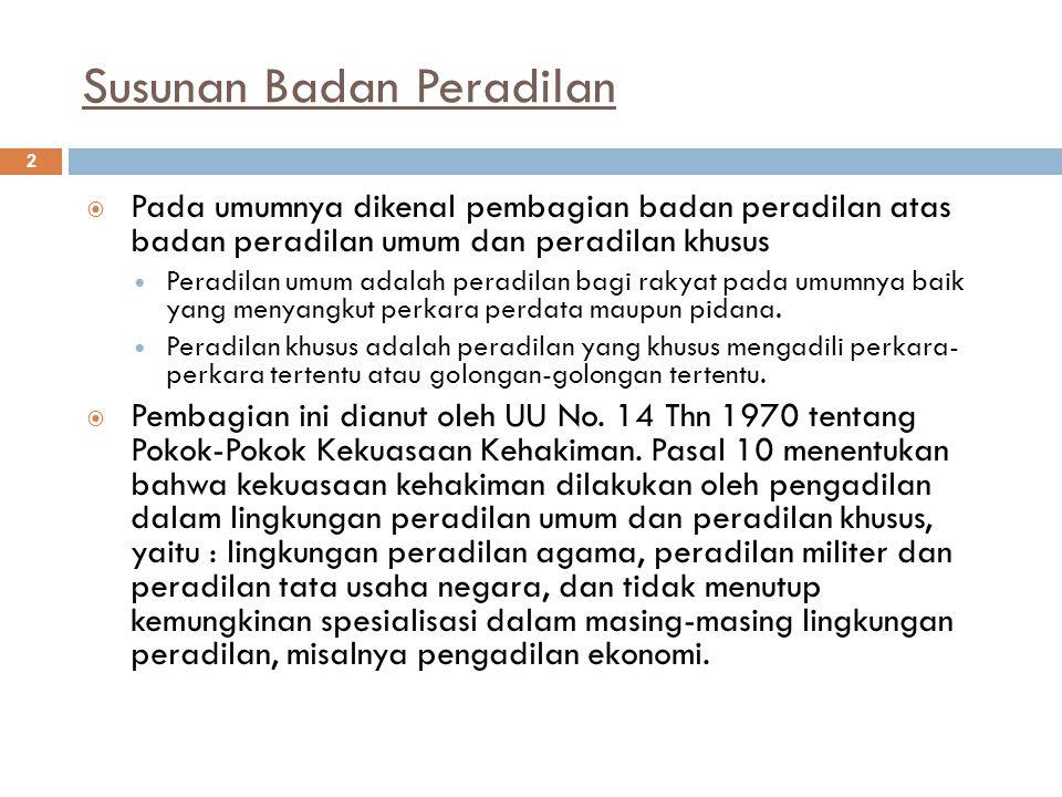 3  UU No.14 Thn 1970 dicabut oleh UU No.