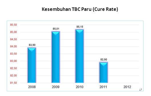 17 Kesembuhan TBC Paru (Cure Rate)