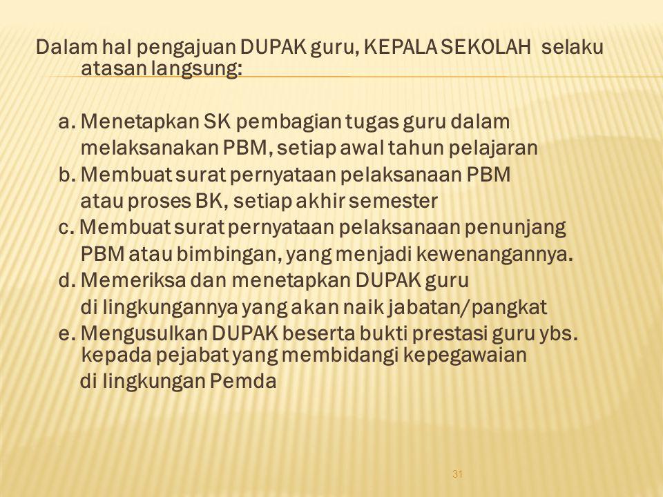 Usul PAK disampaikan dengan kelengkapan berkas : 1. Surat Pengantar dari BKD bagi guru Pemda 2. Surat pengantar usul dari pejabat ybw. bagi guru di lu