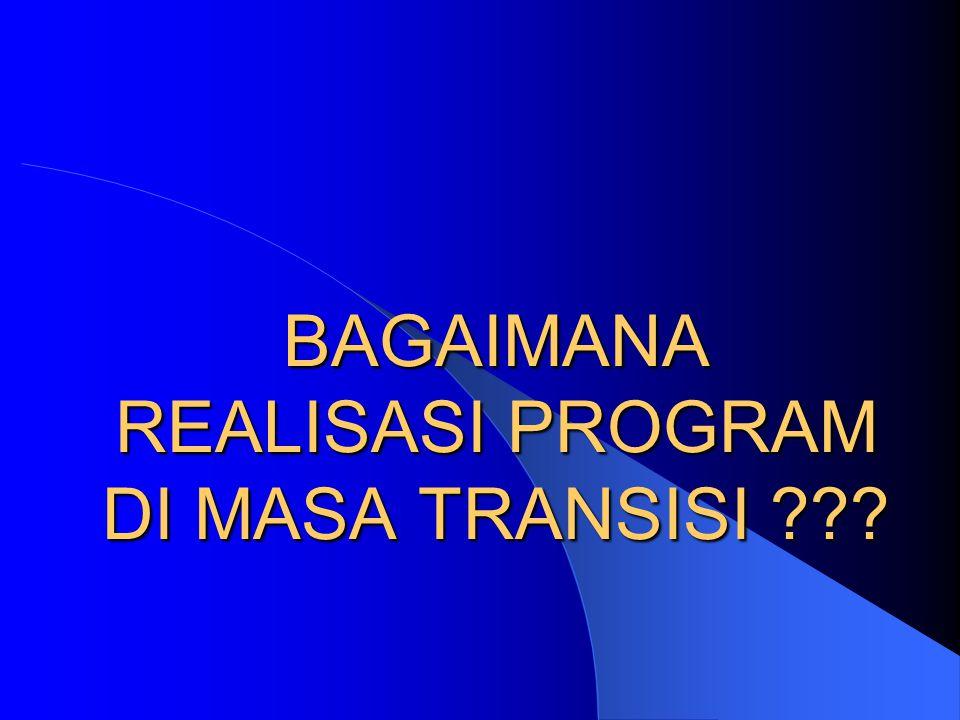 Kondisi Pemerintahan Aceh Tahun 2006 – 2007 (awal) – Dipimpin oleh Pjs Gubernur – Tidak ada RENSTRA dan Properda – RAPBD sebesar 3 - 4 triliun