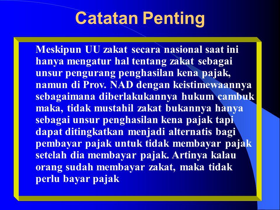 Catatan Penting Sangatlah penting bahwa pemerintah provinsi dan daerah di Aceh mengadakan alokasi strategis pembelanjaan publik untuk mengantisipasi p