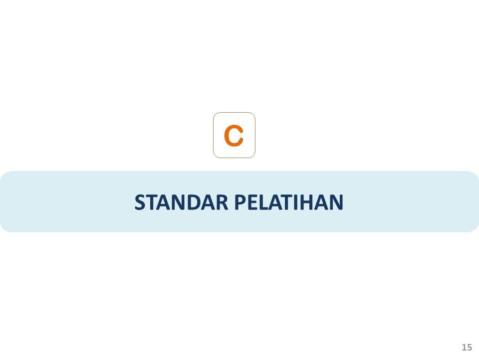 STANDAR PELATIHAN C 15