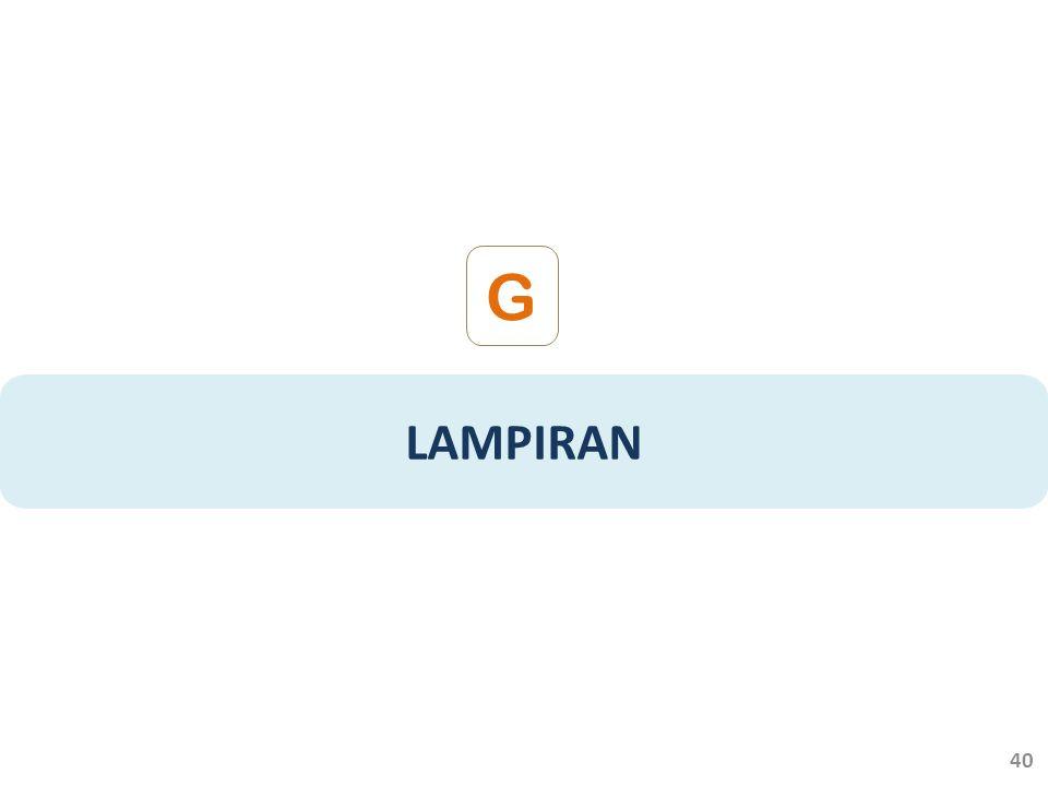 LAMPIRAN G 40
