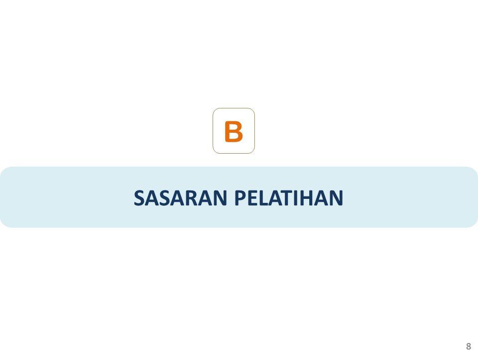 SASARAN PELATIHAN B 8