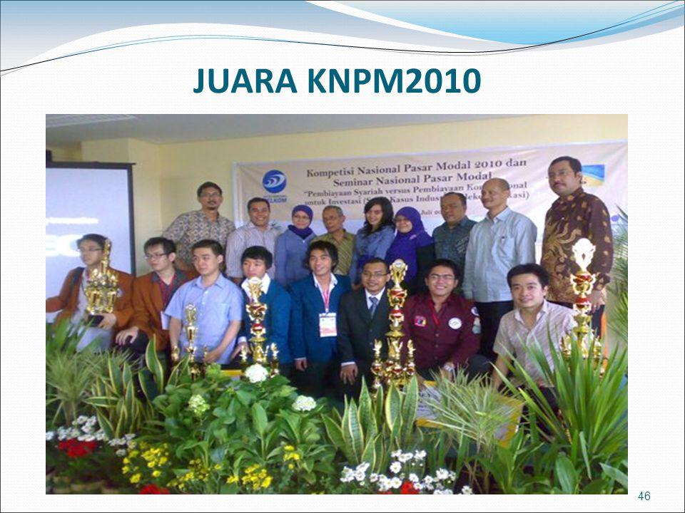 46 JUARA KNPM2010
