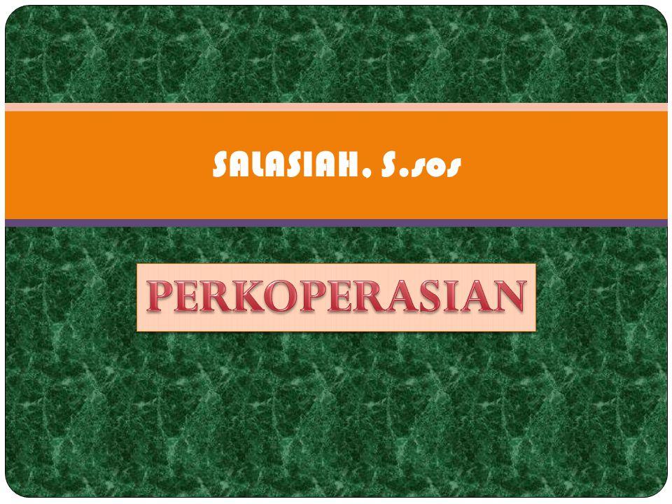 5.PRINSIP-PRINSIP KOPERASI Dalam The Cooperative Sector yang ditulis pada tahun 1951 oleh Dr.