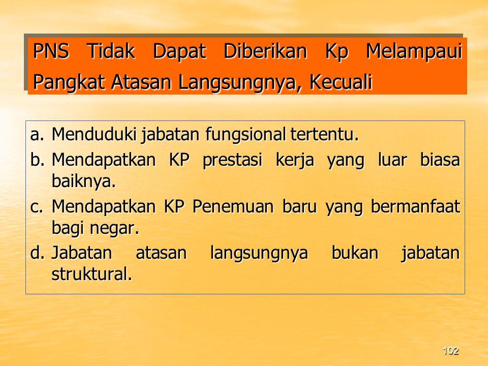 101 KP PNS YANG PINDAH GOLONGAN 1.Harus melampirkan pula : a.Salinan sah STLUD TK.I (II/d-III/a).