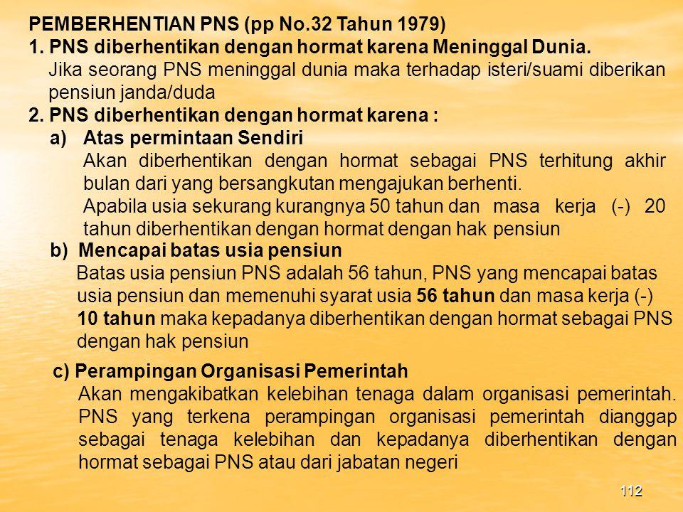 111 PP No.4 Tahun 1966 jika terdapat petunjuk petunjuk yang meyakinkan bahwa ia telah melakukan pelanggaran yang didakwakan maka mulai bulan berikutnya ia diberhentikan diberikan bagian gaji sebesar 50% dari gaji pokok yang diterima terakhir.