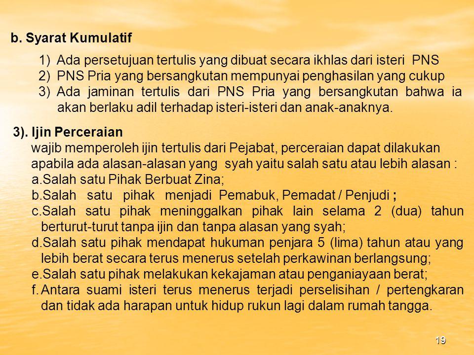 18 7) Wajib Mematuhi PP no.10 Tahun 1983 jo PP No 45 Tahun 1990 1).