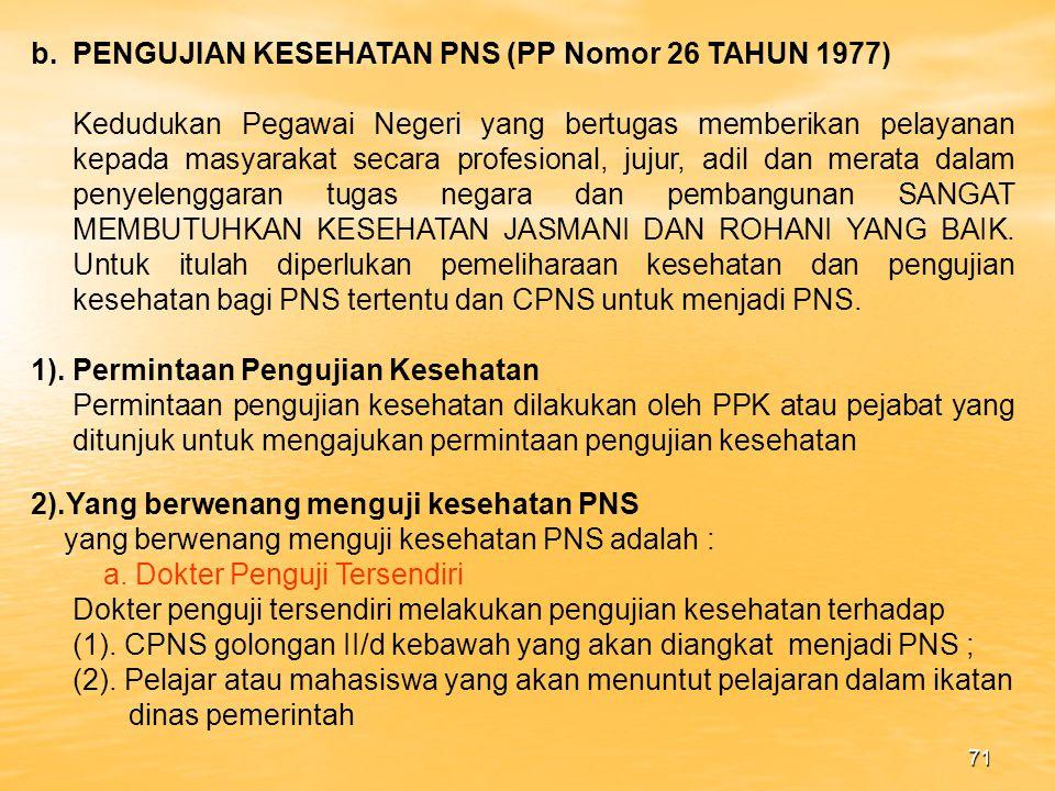 70 c).Keberatan (1).PNS dapat mengajukan keberatan secara tertulis pada kolom catatan dan diajukan selambat lambatnya 14 hari setelah menerima DP 3 dari pejabat penilai.