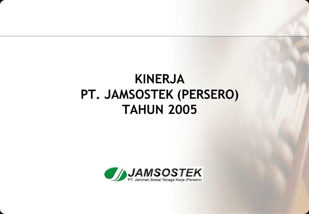 KINERJA PT. JAMSOSTEK (PERSERO) TAHUN 2005