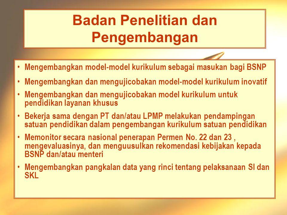 Departemen Pendidikan Nasional - Materi 8 - Permendiknas 24 PLB, 2006 Ditjen Pendidikan Tinggi •Sosialisasi Permen No.