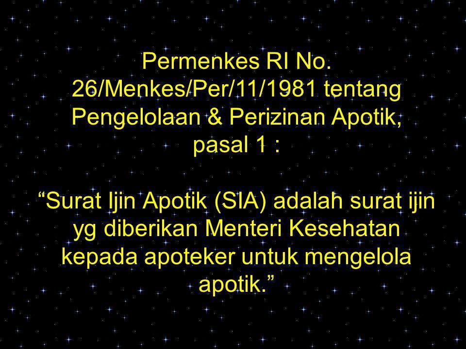 Permenkes RI No.