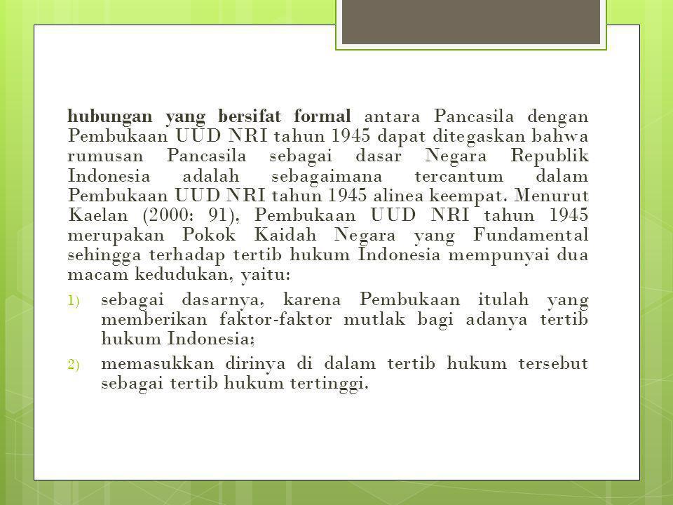 Implementasi Pancasila dalam pembuatan kebijakan negara dalam bidang sosial budaya mengandung pengertian bahwa nilai-nilai yang tumbuh dan berkembang dalam masyarakat Indonesia harus diwujudkan dalam proses pembangunan masyarakat dan kebudayaan di Indonesia.