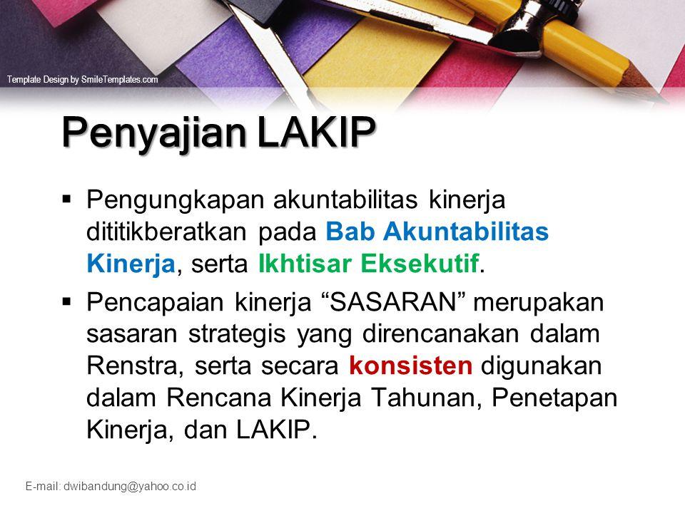 Template Design by SmileTemplates.com E-mail: dwibandung@yahoo.co.id Perkembangan pencapaian kinerja madrasah selama 3 tahun, sbb: