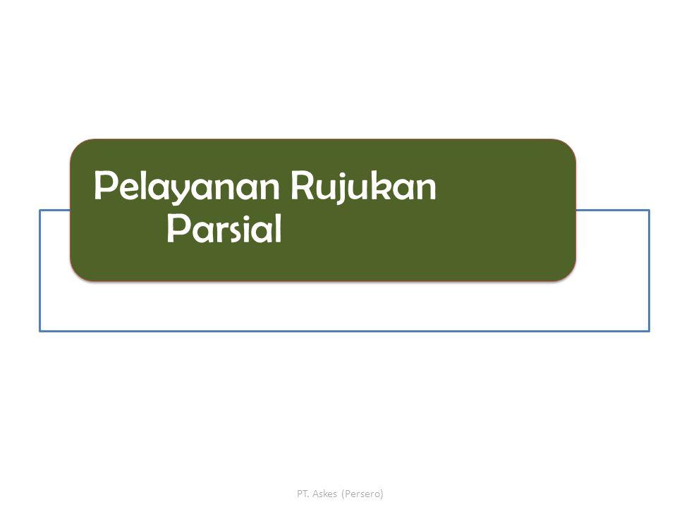 Pelayanan Rujukan Parsial PT. Askes (Persero)