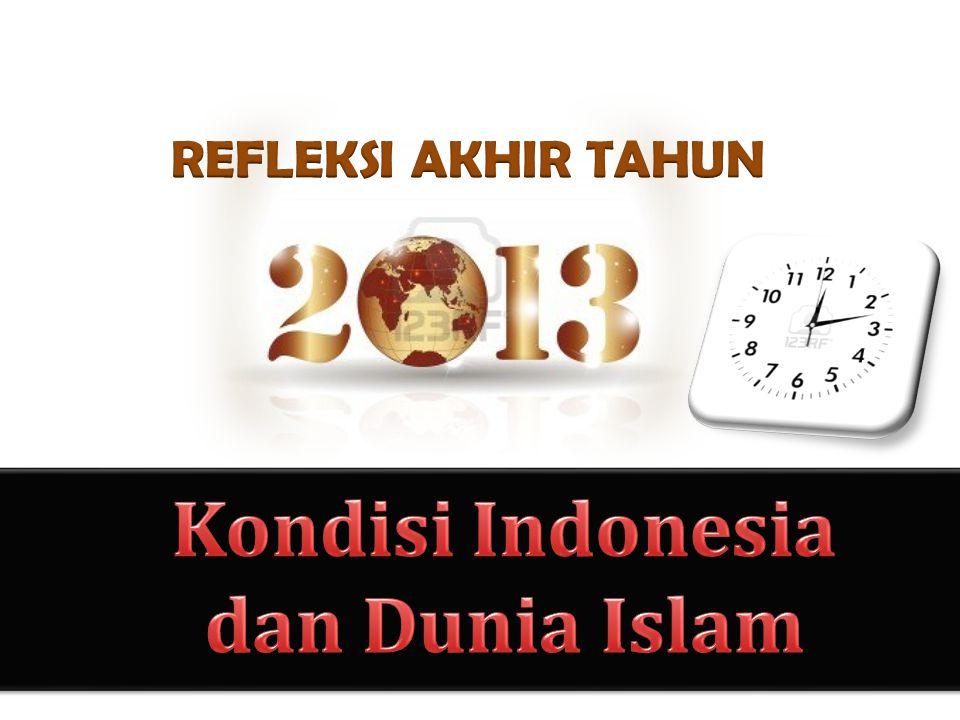 Indonesia, negeri kaya di khatulistiwa, tak henti dirundung nestapa.