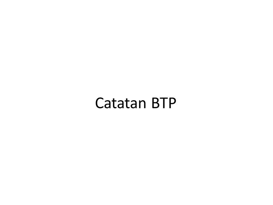 Catatan BTP