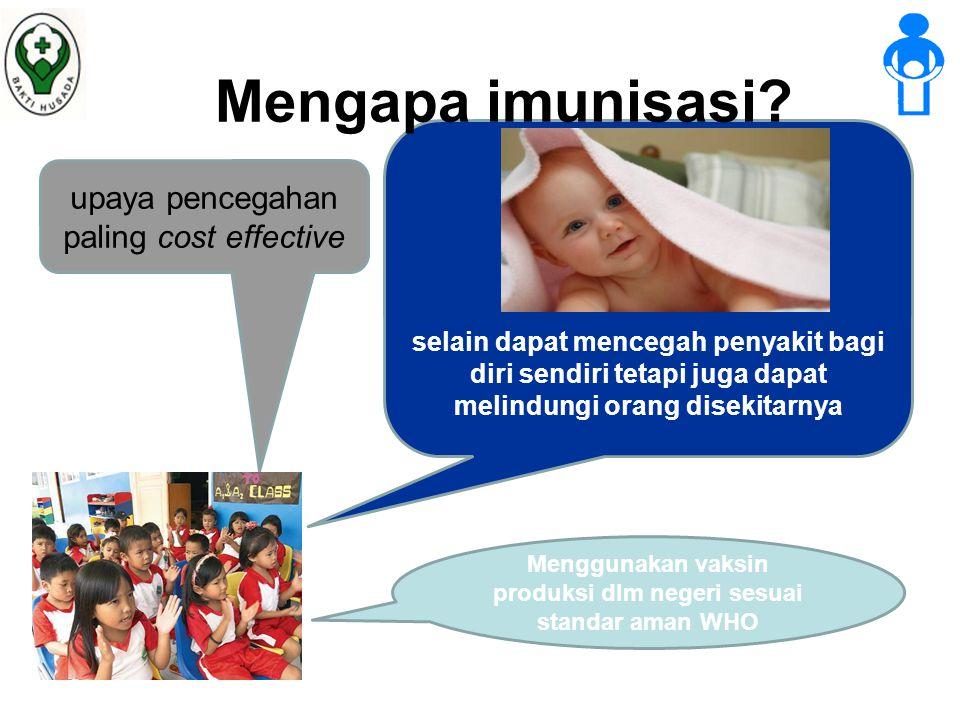 Mengapa imunisasi.