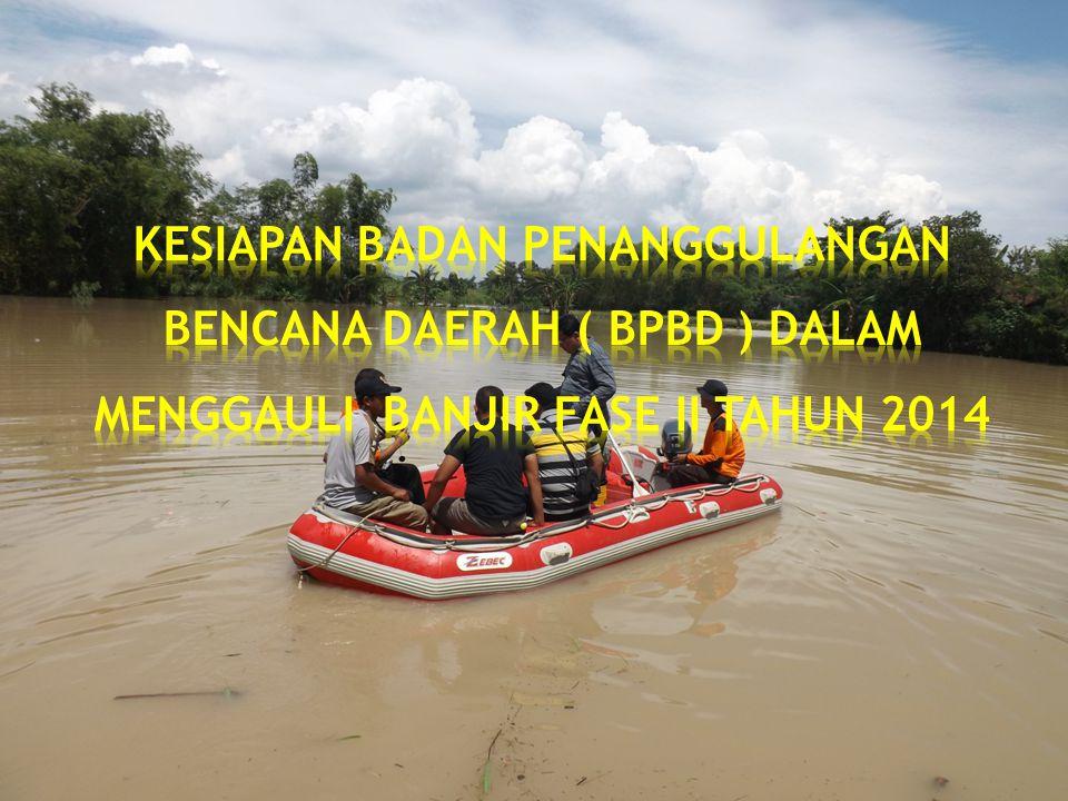 * Informasi BMKG/BNPB intensitas hujan tinggi pada DAS Bengawan Solo yang berpotensi terjadinya ancaman bencana banjir.