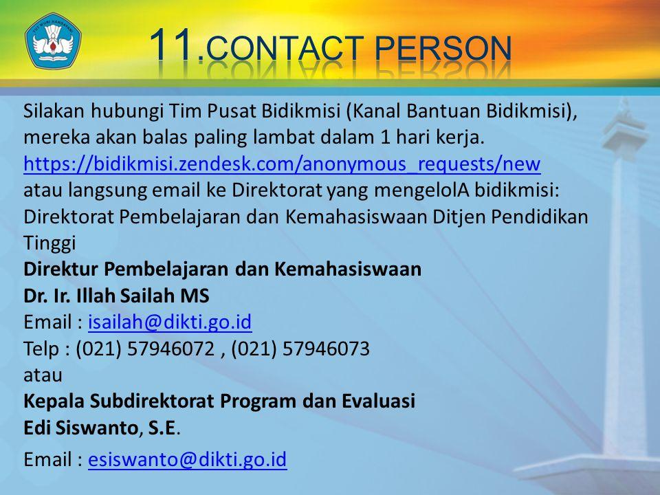 Silakan hubungi Tim Pusat Bidikmisi (Kanal Bantuan Bidikmisi), mereka akan balas paling lambat dalam 1 hari kerja.
