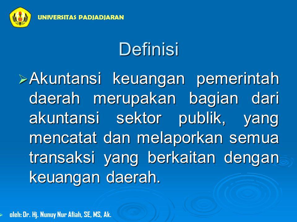 NERACA  Neraca menggambarkan posisi keuangan suatu entitas pelaporan pada tanggal tertentu, yang mencakup:  aset,  kewajiban,  ekuitas dana UNIVERSITAS PADJADJARAN  oleh: Dr.
